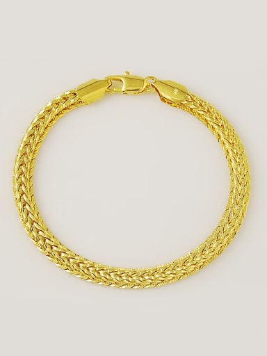 Women High Quality Gold Plated Copper Bracelet