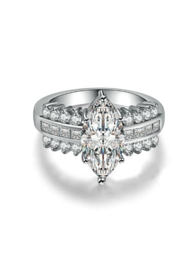 Shining Specially Style Zircons Women Ring