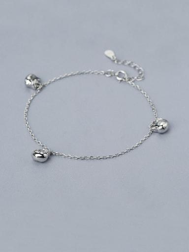 925 Silver Cat Shaped Bracelet