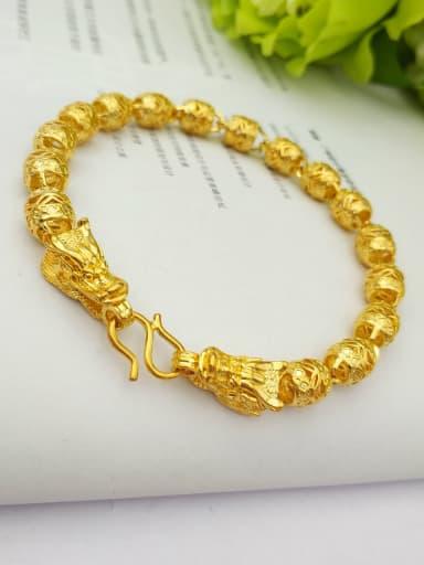 24K Gold Plated Faucet Shaped Bracelet