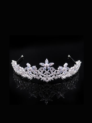Luxury Women Crown-shape Wedding Hair Accessories