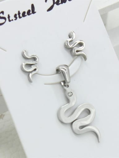 Snake Shape Fashion Stainless Steel Set