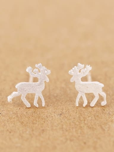 Simple Tiny Deer stud Earring