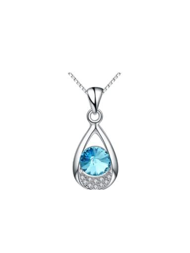 Water Drop Color Shining Wedding Accessories Necklace