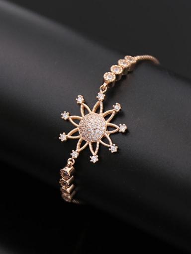 2018 Sun Flower Stretch Bracelet