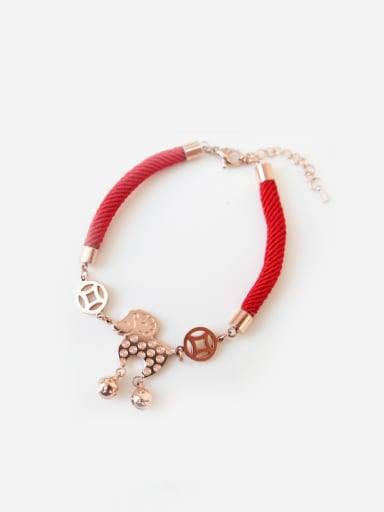 Little Sheep Accessories Red Rope Bracelet
