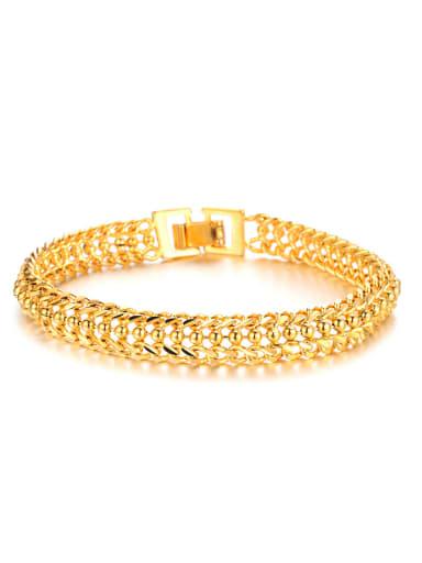 Classical 18K Gold Plated Women Bracelet