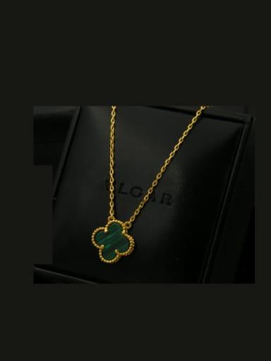 Clover Copper Necklace