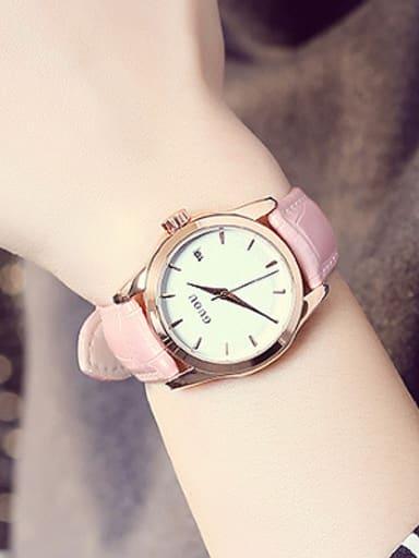 2018 GUOU Brand Simple Mechanical Women Watch