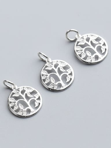 925 Sterling Silver With Silver Plated Trendy Dream tree Charms