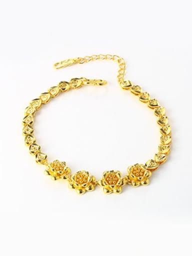 Retro style Flowery Women Bracelet