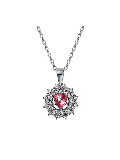 S925 Silver Flower-shaped Necklace