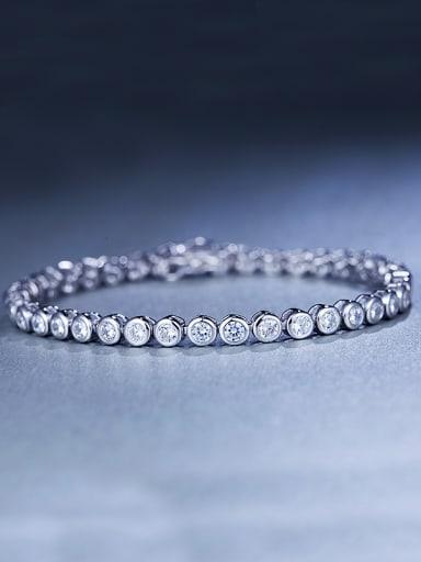 Zircon 925 Sliver Bracelet