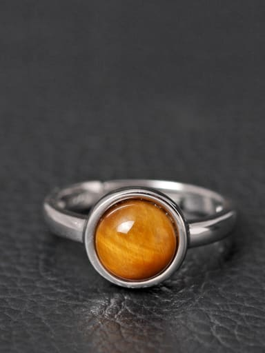 Personality Stone Women Opening Ring