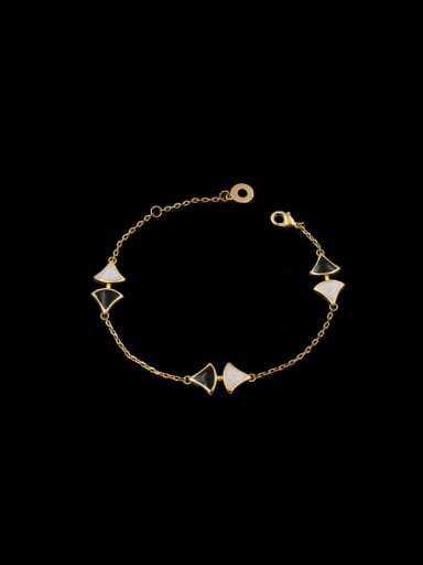Lovers Fan Shaped Bracelet
