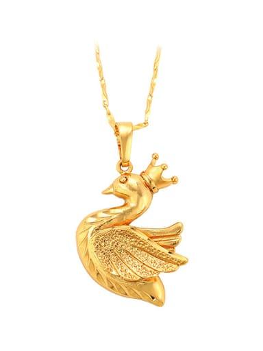 Personalized Little Swan Pigeon Pendant