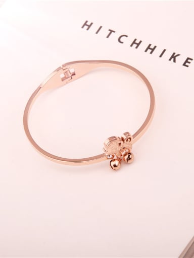 Rose Gold Plated Women Bangle