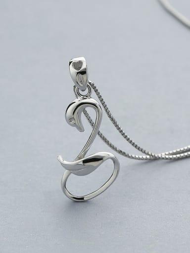 925 Silver Swan Pendant