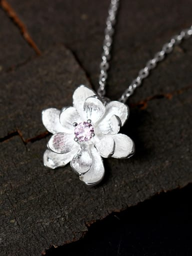 Small Flower Pendant Accessories Women Necklace