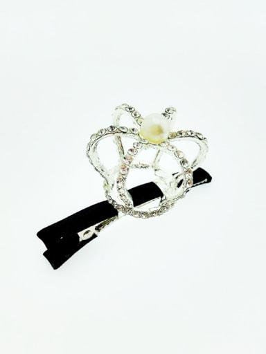 Alloy Crown Hair clip