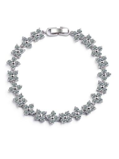 Classic Bling-bling AAA zircons Bracelet