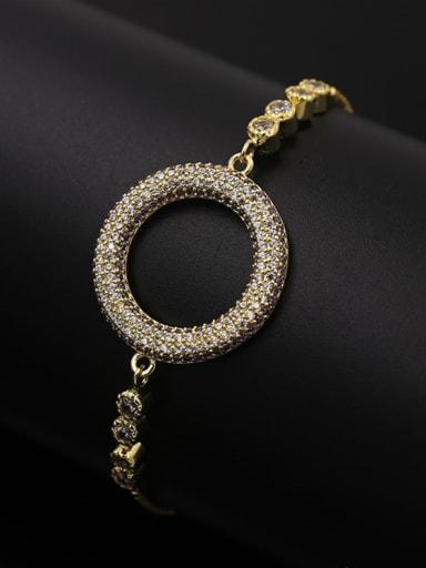 Round Shaped Copper Bracelet