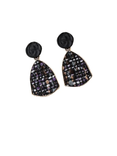Alloy With Imitation Gold Plated Fashion Geometric Drop Earrings