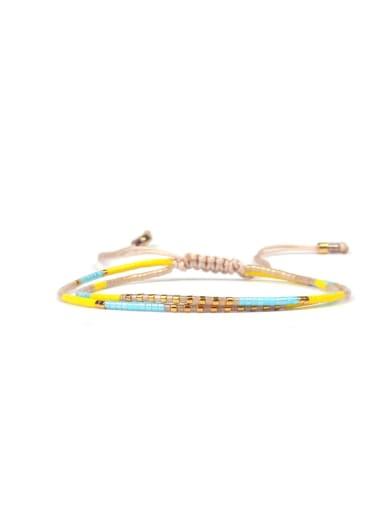 Western Style Colorful Woven Bracelet
