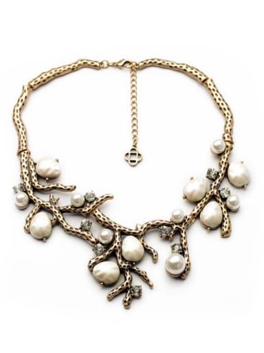 Dedicate Retro Branch-Shaped Alloy Necklace