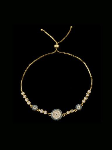 Zircon Stretch Copper Bracelet