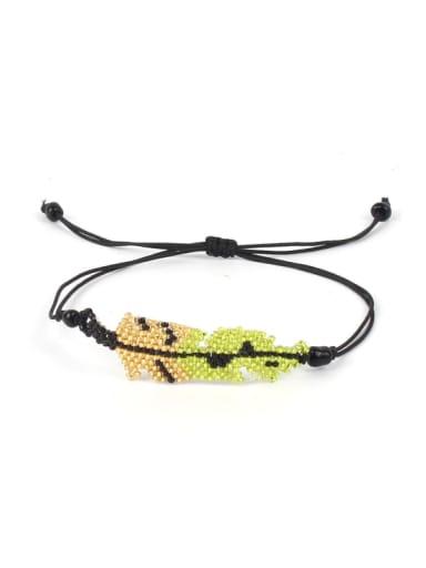 Leaves-shape Accessories Simple Style Bracelet