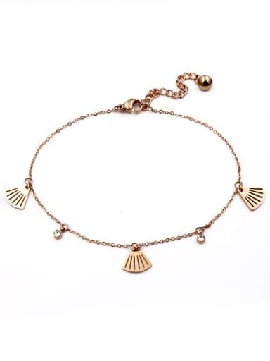 Exquisite Fan-shape Accessories Simple Women Bracelet