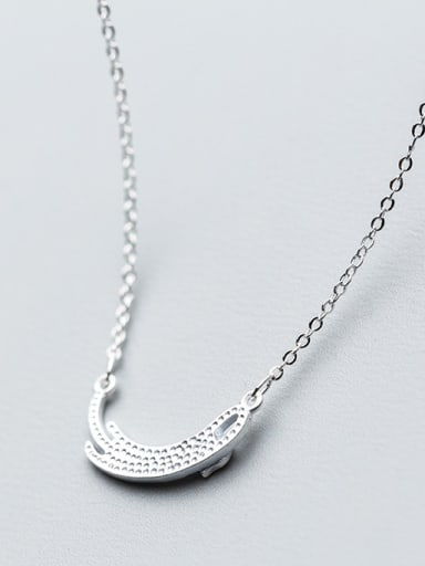 Exquisite Geometric Shaped S925 Silver Women Necklace