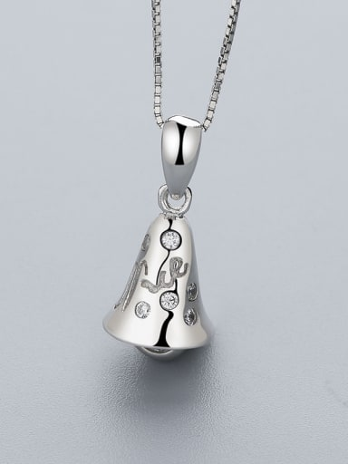 925 Silver Bell Shaped Pendant