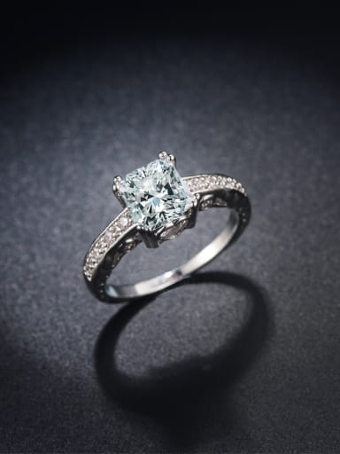 Shining Wedding Accessories Engagement Ring