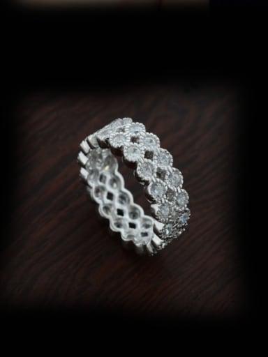 Shining Copper Stacking Ring