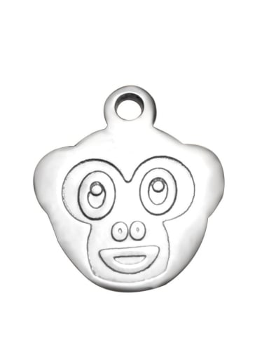 Stainless Steel With cute monkey Charms