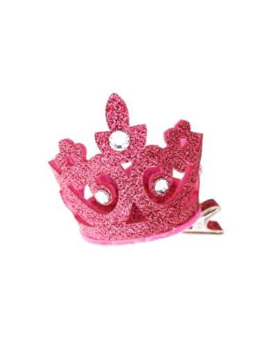 Glitter Crown Hair with mini hat