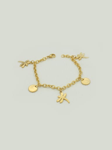 Round Dragonfly Accessories Women Bracelet Anklet