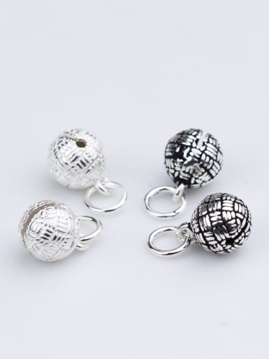 925 Sterling Silver With Silver Plated Vintage bell Charms