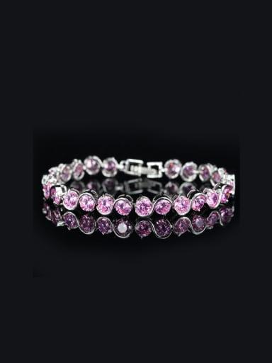 2018 Color Zircons Luxury Bracelet