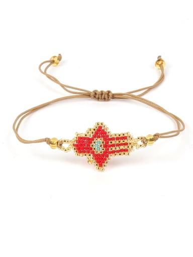 God' Hand Glass Beads Woven Hot Selling Bracelet