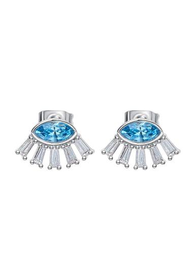 Fashion Marquise Swarovski Crystal Stud Earrings