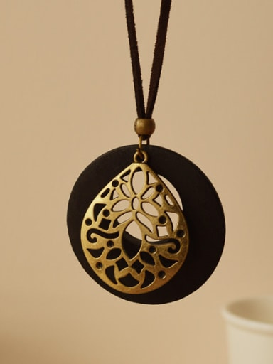 Ethnic Style Water Drop Shaped Necklace