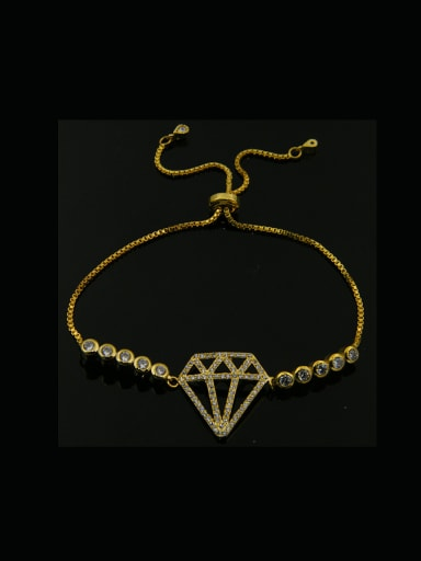 Diamond Shaped Stretch Bracelet