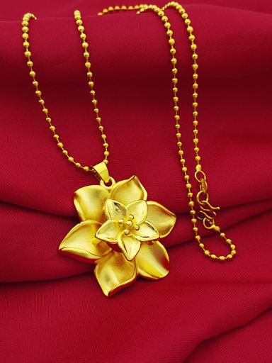Exquisite Flower Shaped Women Necklace