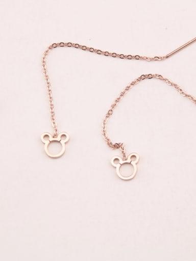 Korean Simple Fashion Line Earrings