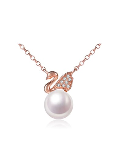 Freshwater Pearl Swan Necklace