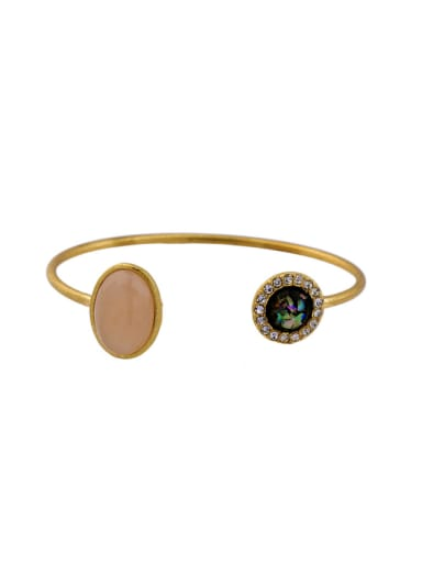 Simple and Lovely Alloy Bangle