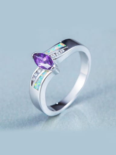 2018 Purple Zircon Ring